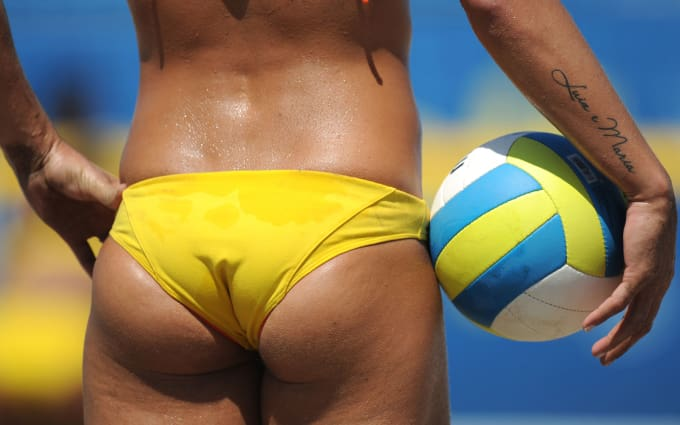 sexiest babes of volleyball
