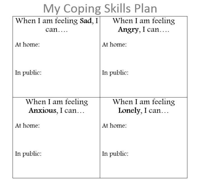 Coping Skills Activities for Children   Education