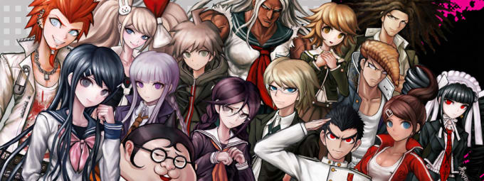 Anime Danganronpa The Animation Genre Drama Mystery Thriller Age Rating Teen License Funimation Music So Many Composers