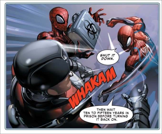Like your superior spider man congratulate