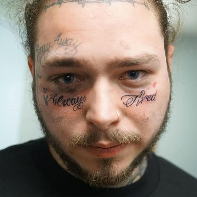 Post Malone\'s Up-To-Date Tattoo Collection! | Beat