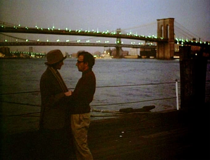 Image result for annie hall manhattan bridge