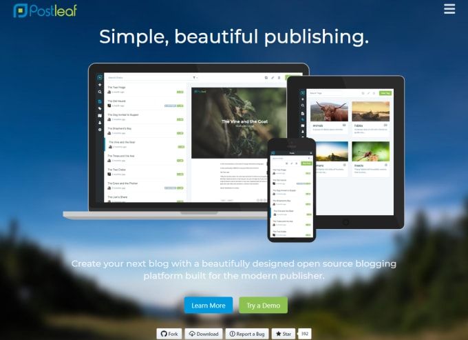 13 Clean and Simple Open-Source Blogging Platforms for Your