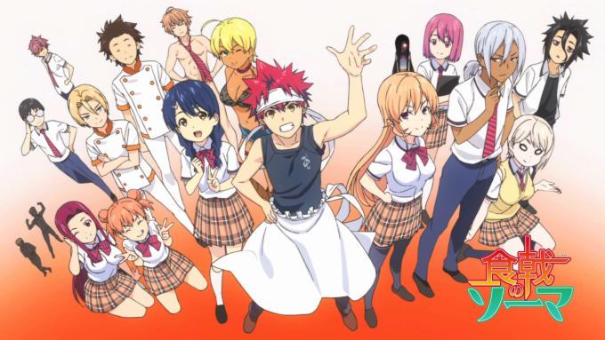 Food wars! Best tournament anime