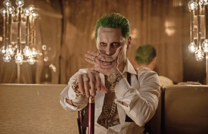 Early Concept Art Of Jared Leto In Suicide Squad Shows The Joker