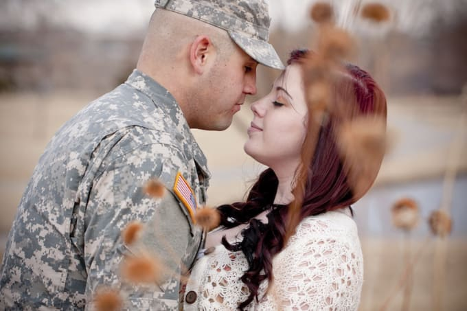 Dating a woman in the military