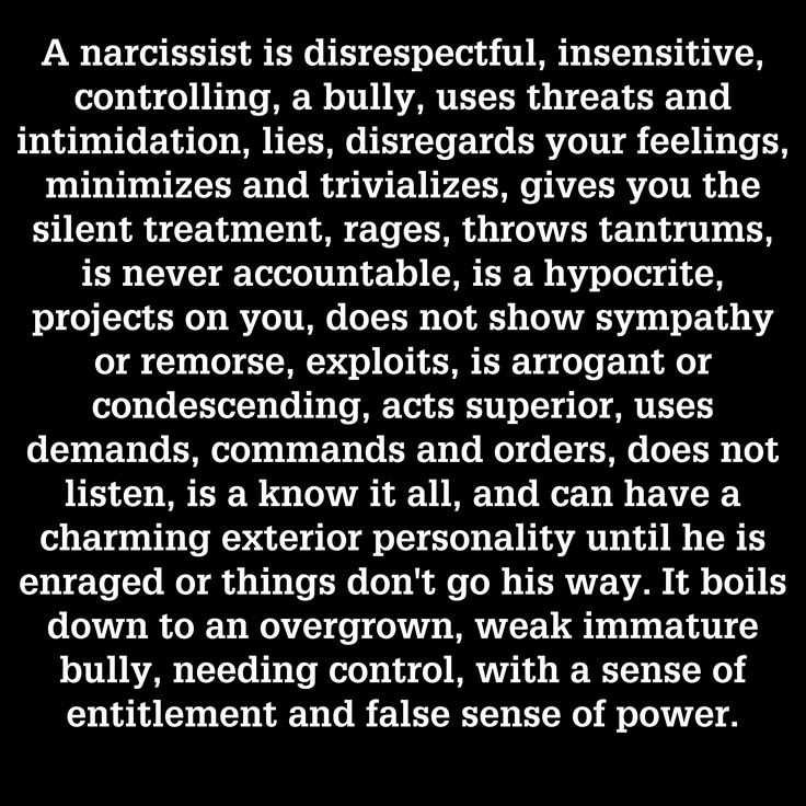 Get over a narcissist