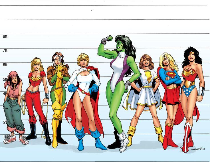 Female superheros celebrities picture 77