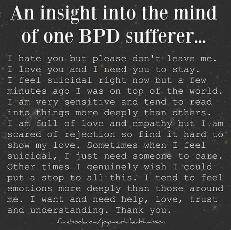 Living with BPD | Psyche