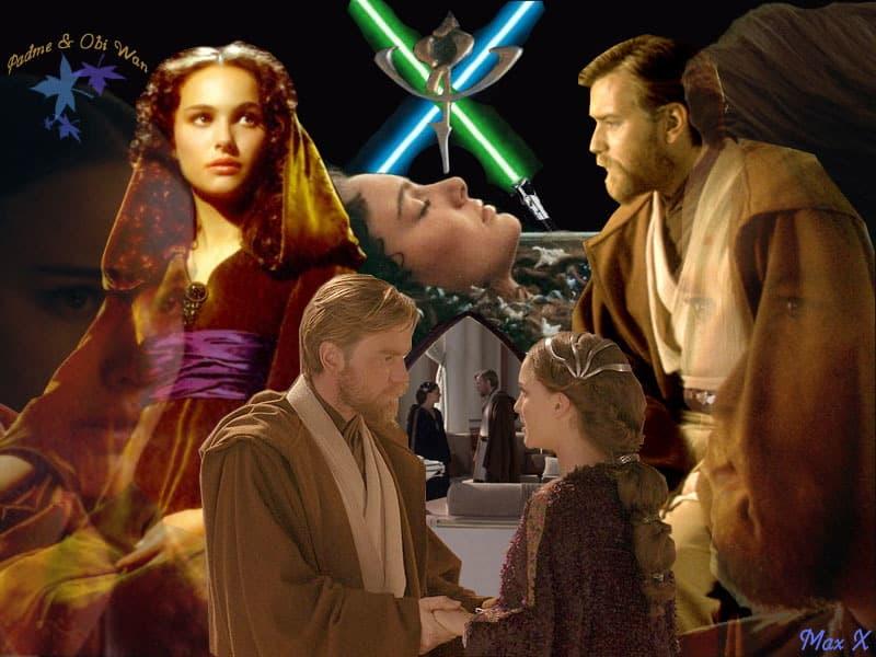 Was Padme Amidala Secretly Showing Obi Wan Kenobi Her Naboobs The Entire Time