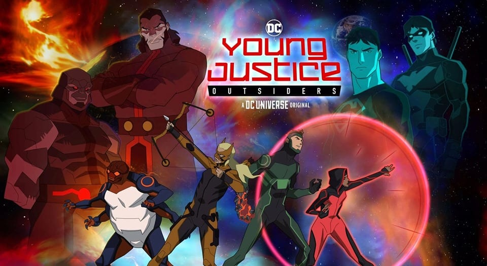 'Young Justice: Outsiders' Is Overwhelmingly Crash!