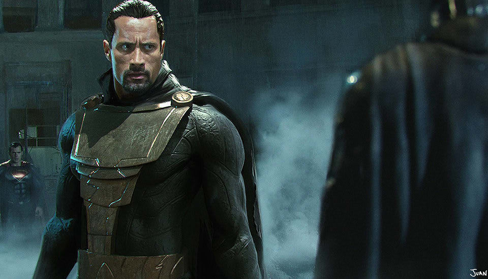 Dwayne Johnson Was Given The Choice Between Chance To Either Play Captain Marvel Shazam Or Arch Nemesis Of DC Characters Universe Black Adam