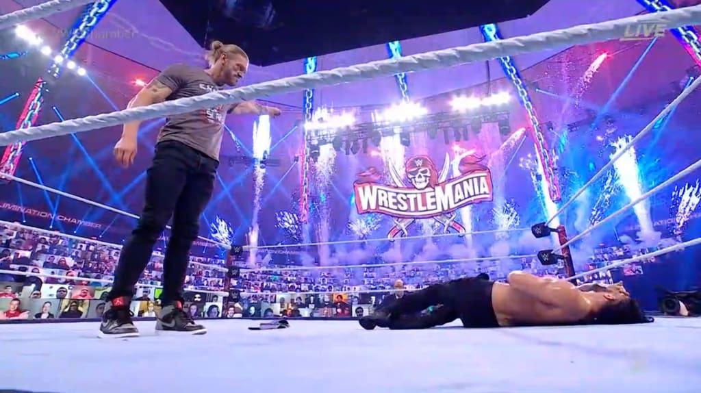 Wwe Elimination Chamber Recap Edge Will Challenge Roman Reigns At Wrestlemania 37 Unbalanced