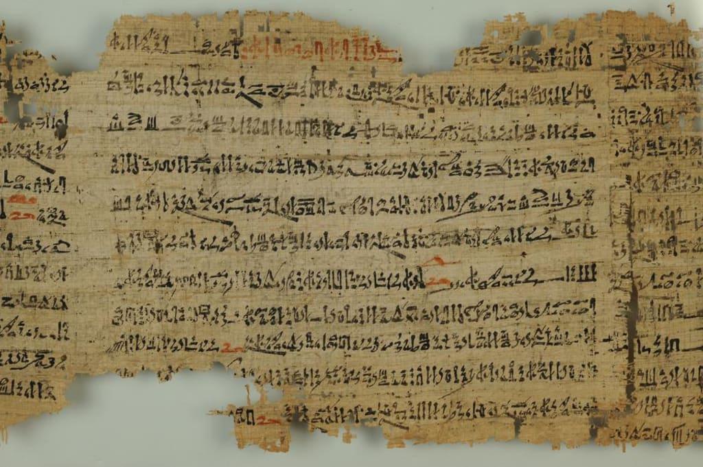 Egyptische papyrus beschrijft UFO-ontmoeting