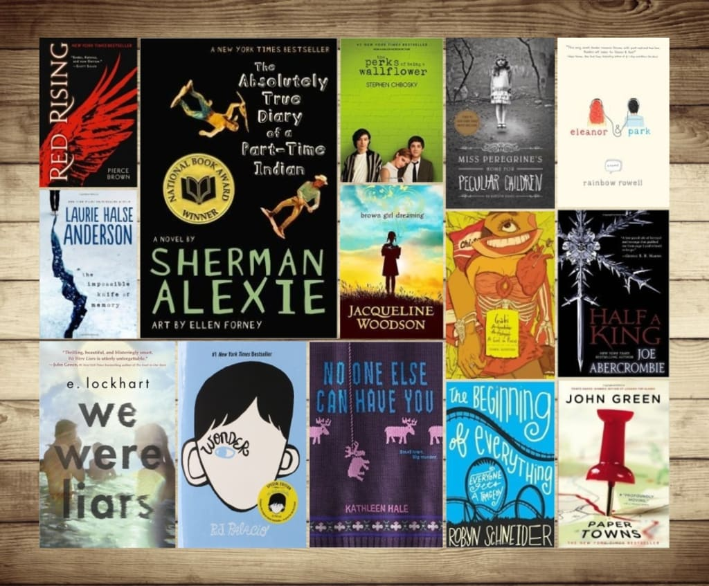Suggested books for young adults