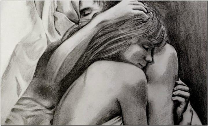 Sexy cuddling positions