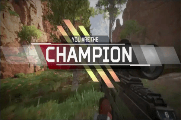 Becoming A Champion In Apex Legends