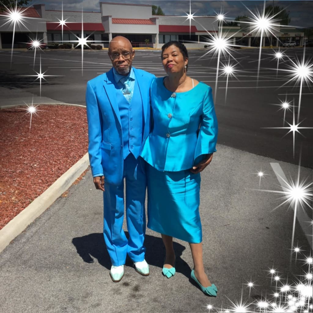 Sparkle and Shine as an Older Couple
