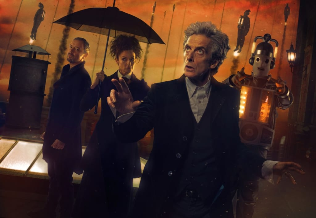 """Peter Capaldi's Twelfth Doctor Makes Epic Comeback as """"The Doctor Falls"""" is Nominated for a BAFTA Cymru"""