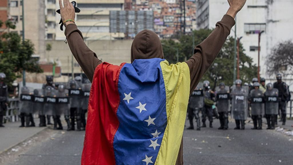 Venezuela's Situation Is Beyond Peaceful Protests