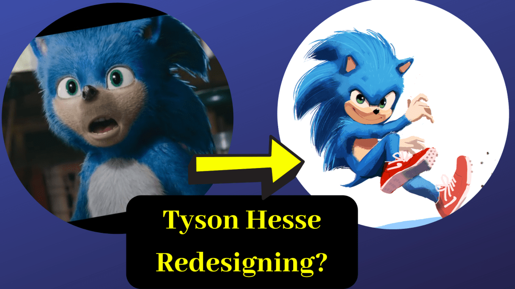 Comic Artist Tyson Hesse Claims To Have Worked On The Redesign For The Sonic Movie