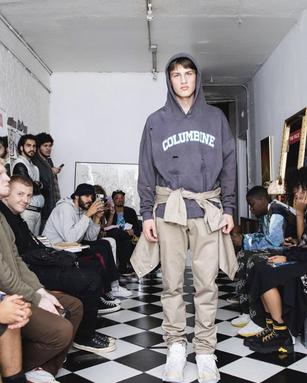 Mass School Shooting, but Make It Fashion
