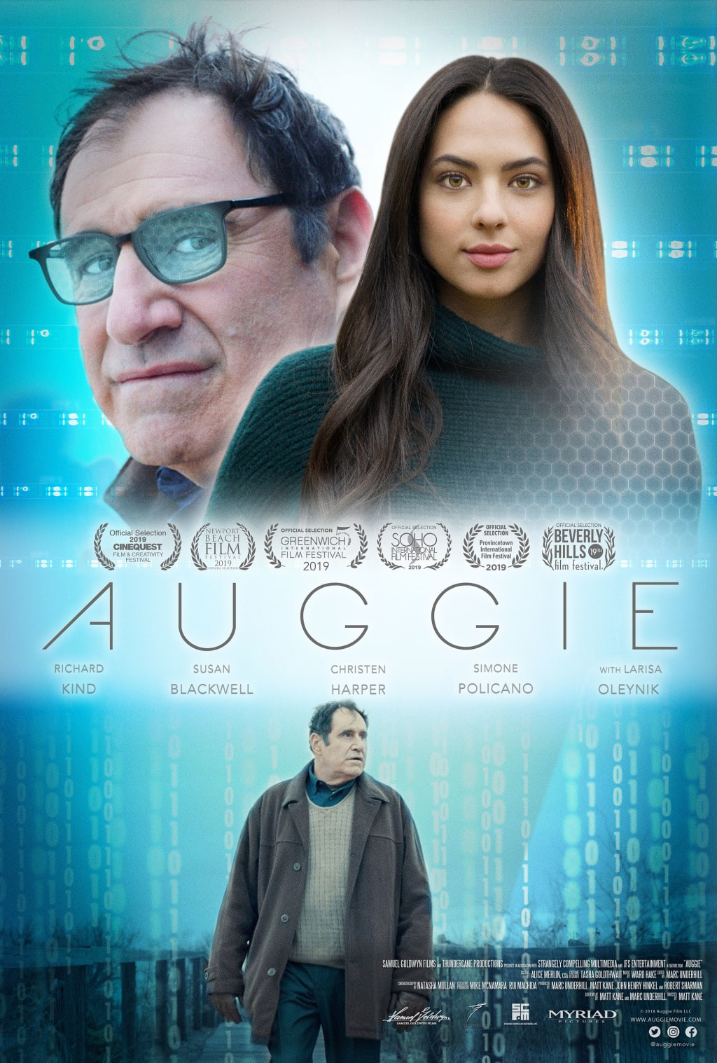 Movie Review: 'Auggie' Aims for Pathos, Hits Creepy