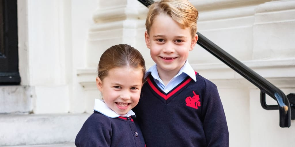 Prince George and Princess Charlotte's Last Name in School