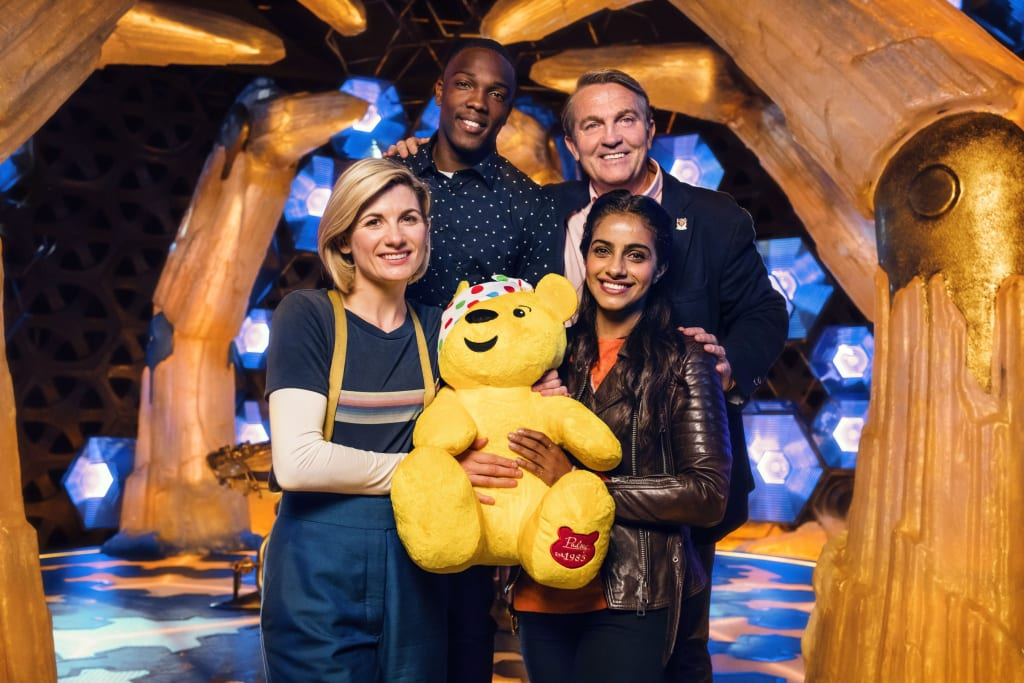 Jodie Whittaker Wows 'Doctor Who' Fans with Coldplay Cover for Children in Need