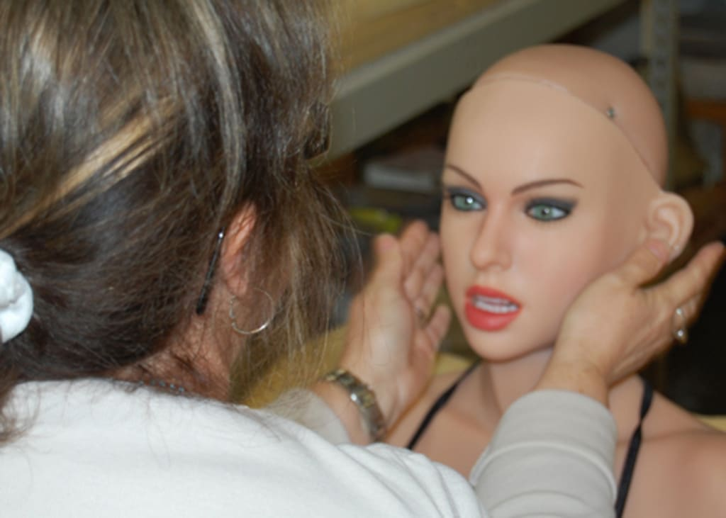 Silicone Sex Doll Factory: How Each 'Dream Lover' Sold for Thousands of Dollars Is Made