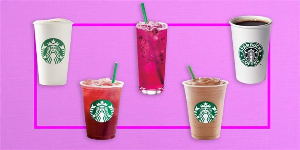 5 Starbucks Drinks