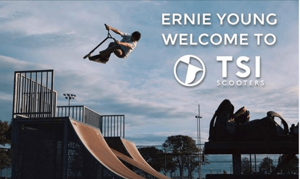 Spotlight on Freestyle Scooter Rider Ernie Young