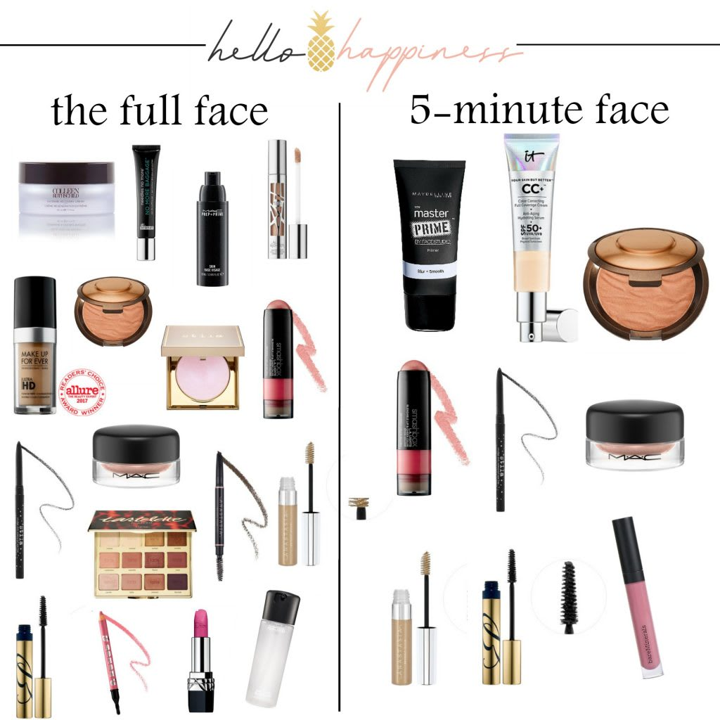 Tips & Tricks for a Quick Makeup Look