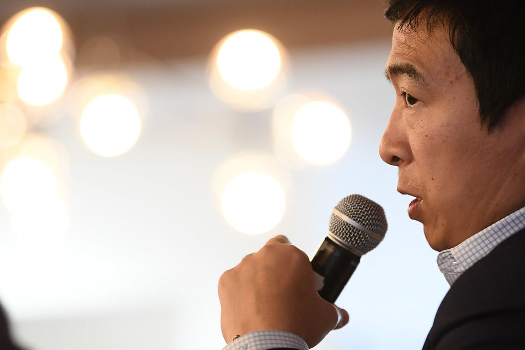 Andrew Yang Wants to Put Money in Your Bank