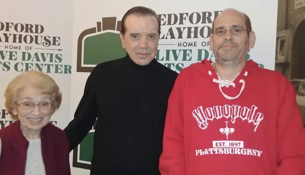 Chazz Palminteri Reveals the Many Tales Behind 'A Bronx Tale' at the Bedford Playhouse