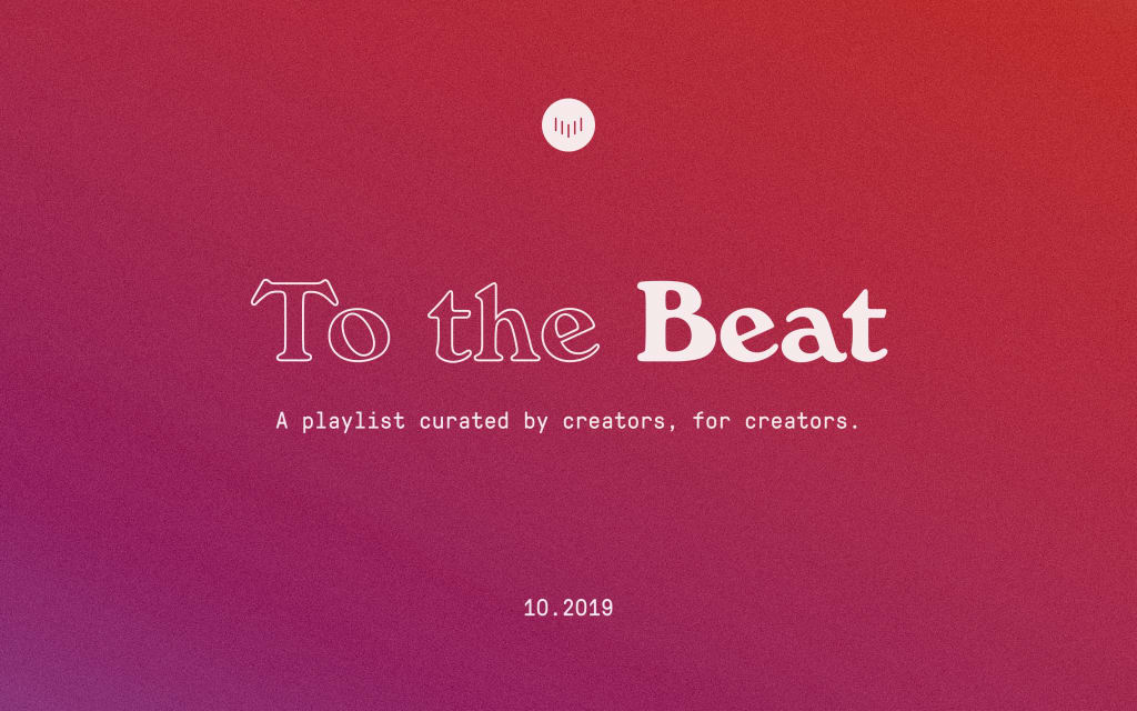 To the Beat: October 2019