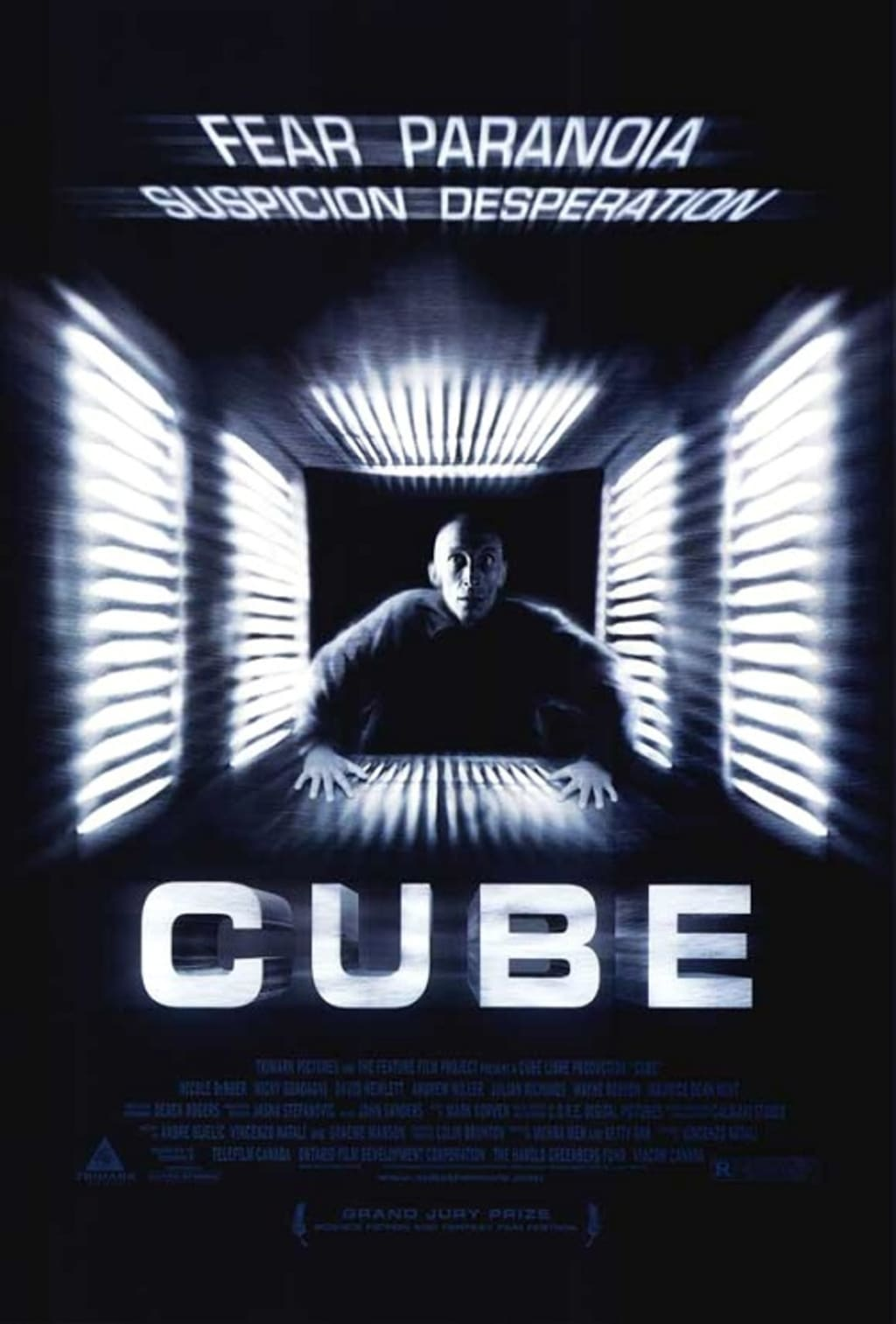 Reed Alexander's Horror Review of 'Cube' (1997)