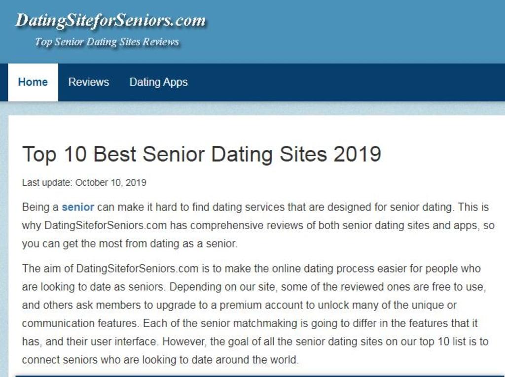 Senior dating apps Dating telefon linje Toronto
