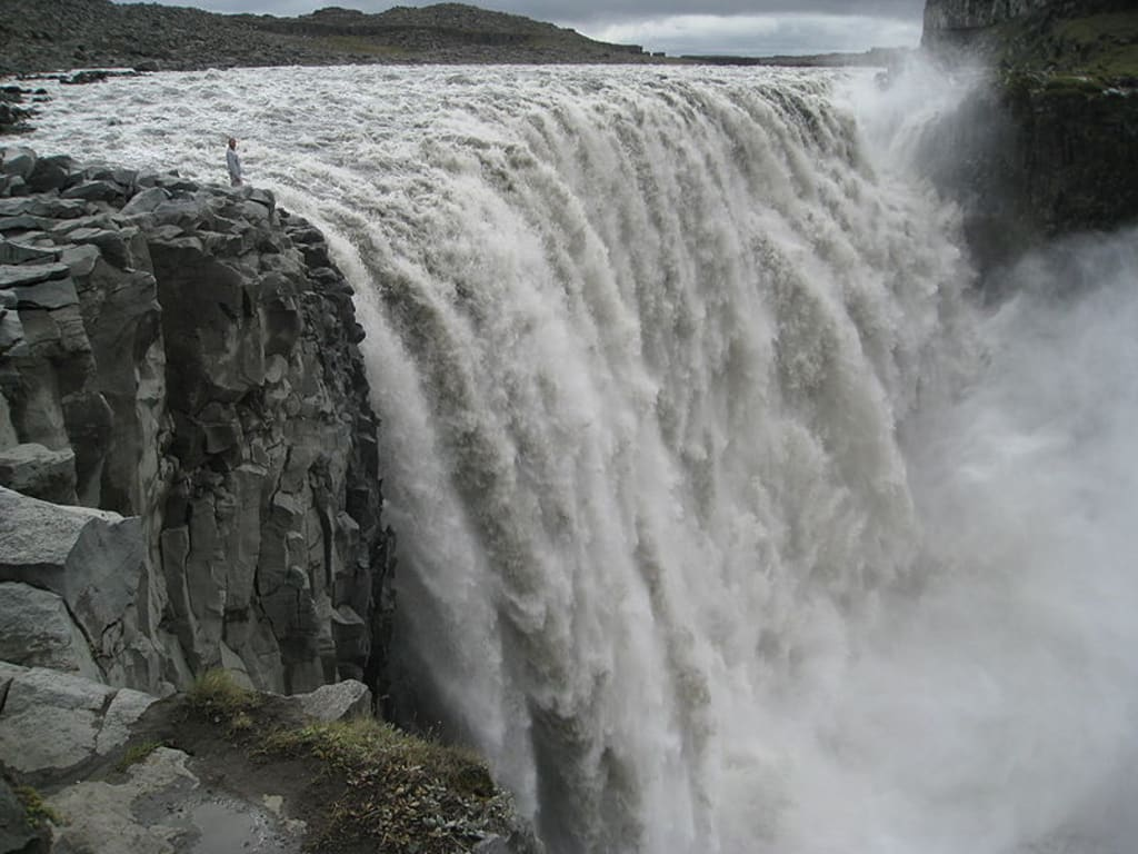 Dettifoss is the Largest Waterfall in Europe