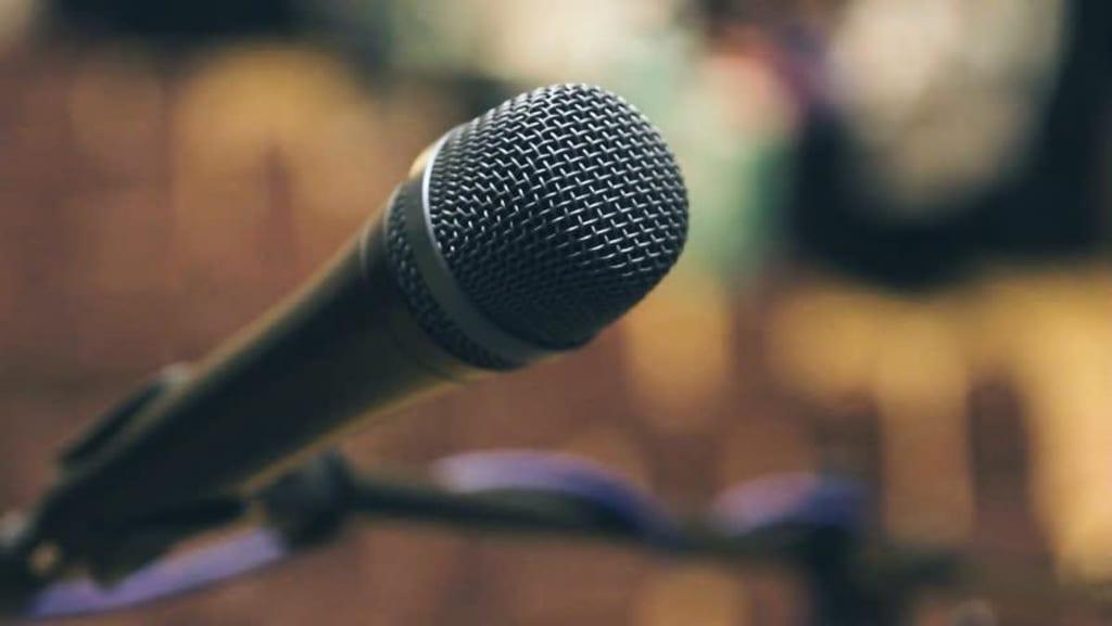 Public Speaking and CBD