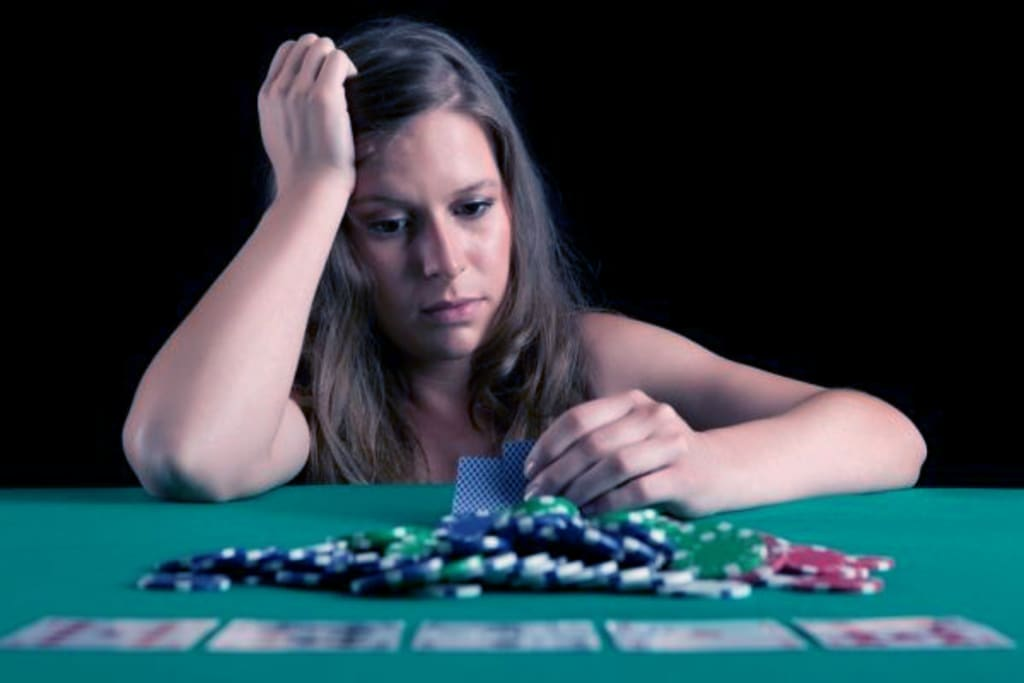 Serious Mental Disorder as Earning Tool - Who Benefits from Gambling Addiction?