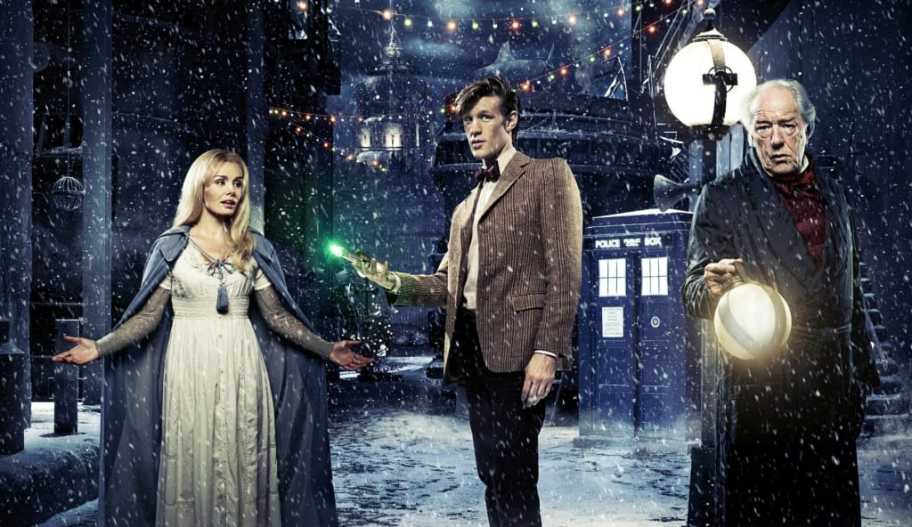 Steven Moffat's Writing for 'Doctor Who' at Christmas Is Enchanting, Here's Why