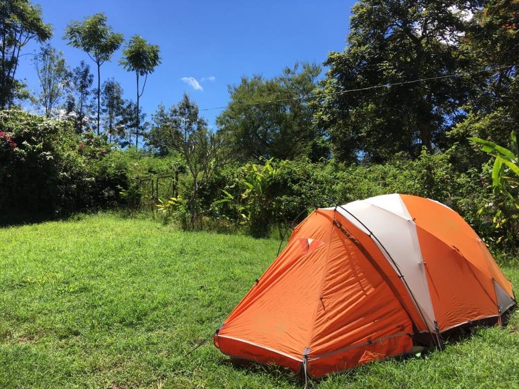 May 22, 2019. 7:03 AM — At Kilimanjaro Camp Tent