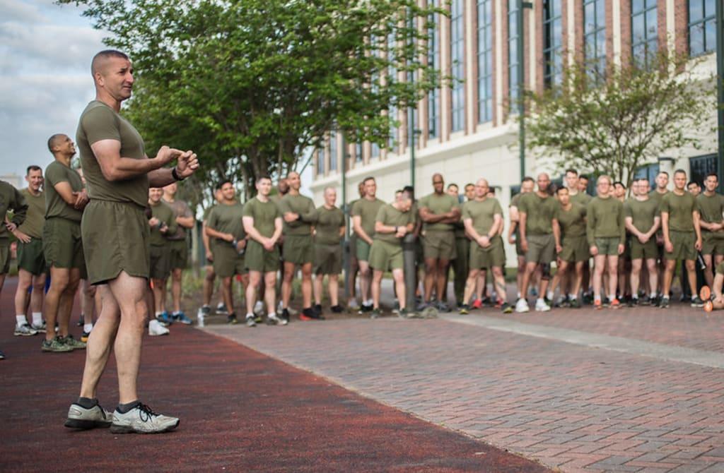 Marine Corps Stories: Police Call