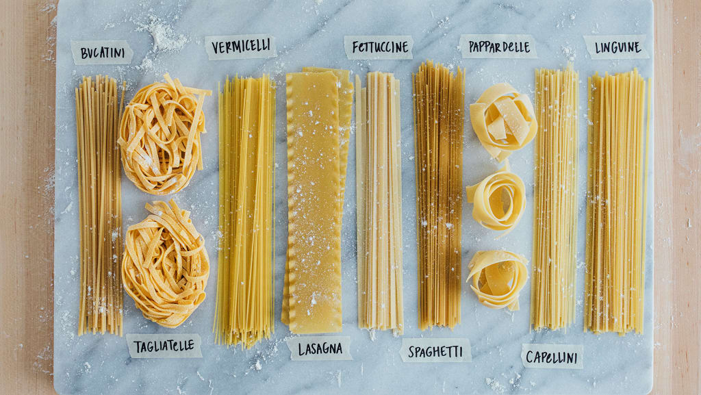 Shades of Pasta