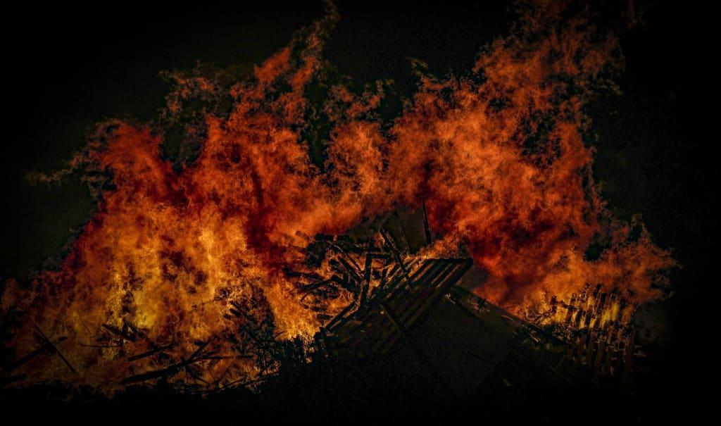 Whilst Australia Burns