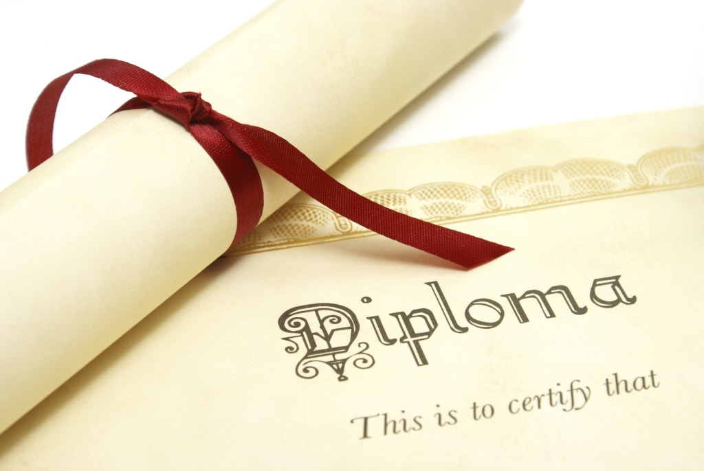 A Diploma a Day Keeps the Doctor Away