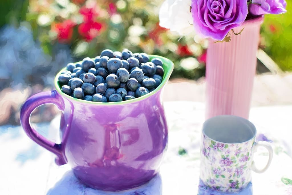 Blueberries are a powerful anti-aging food