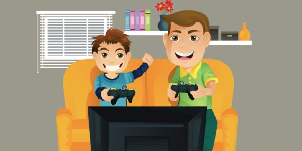 70% Dad. 29.9% Husband. 0.1% Gamer.