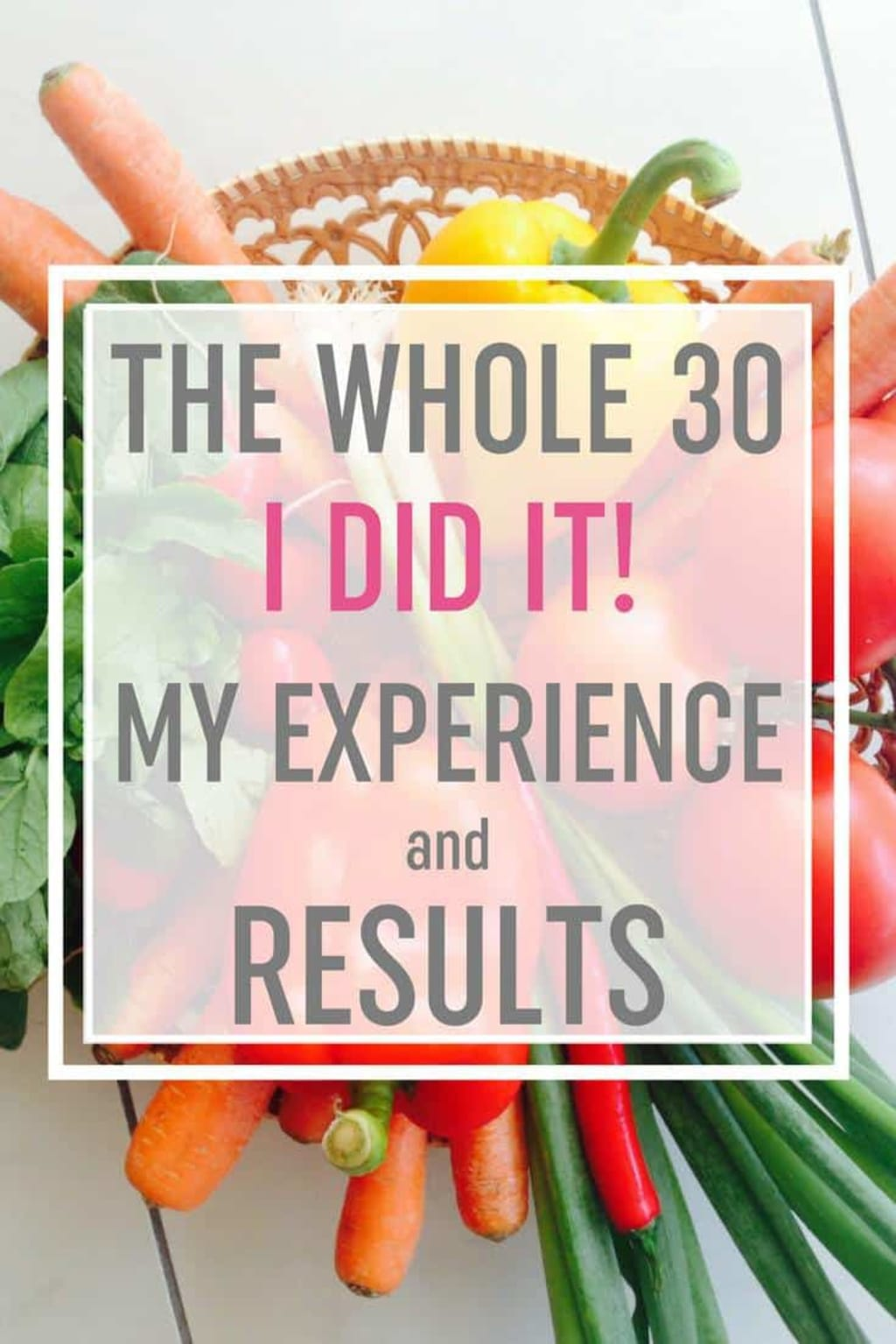 Whole30 is a game changer